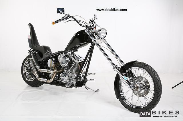 ... Harley Davidson Chopper, Custom Bike 2007 Chopper/Cruiser Photo