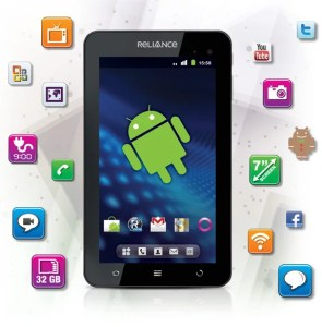 Reliance 3G - WiFi Android Tab