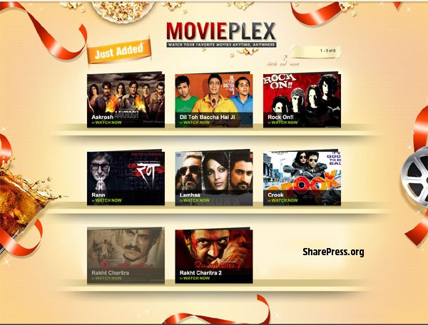 Yahoo India Movieplex - Bollywood Movies