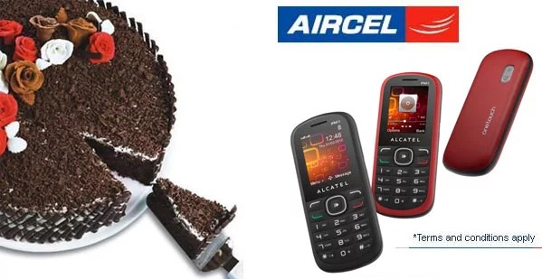 Aircel introduces Independence Day Special Plan 1508 - Handset with extra Benefits