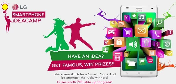LG Mobile India launches Smartphone iDEACAMP for Creative Minds