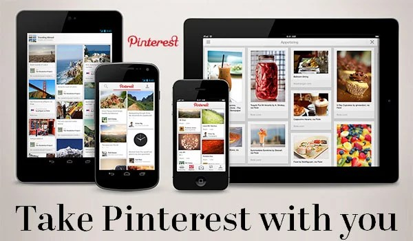 Pinterest App now available for Android, iPad and iPhone