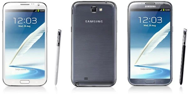 Samsung Galaxy Note II Specification and Features