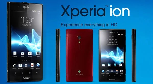 Sony Xperia Ion - the Premium HD Android smartphone launched in India