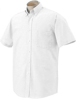Van Heusen Men's Short-Sleeve Oxford Dress Shirt Review