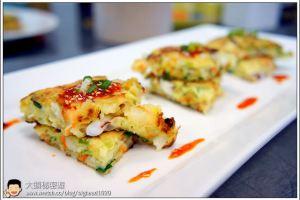 [韓式料理]煎餅類  韓式海鮮煎餅