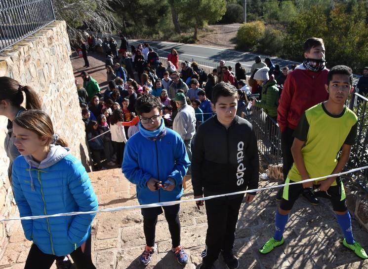 La Santa acogió la Jornada Zona Sur de Orientación de Deporte Escolar, donde participaron 171 escolares de todos los puntos de la Región de Murcia