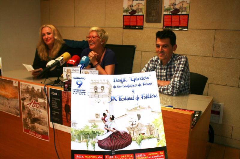 """Vídeo. Totana acogerá el IX Festival Folklórico y Desfile Costumbrista """"Güertero"""" el próximo 9 de junio, coincidiendo con la festividad del Día de la Región de Murcia"""