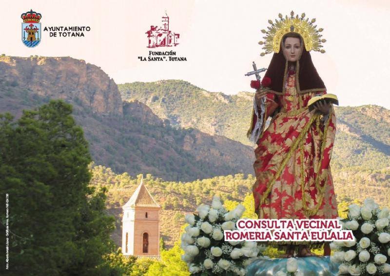 Comienzan este fin de semana las consultas vecinales sobre la celebración de la romería de subida de la Santa: en la ermita de San Roque (sábado) y en el Santuario de la Patrona (domingo)