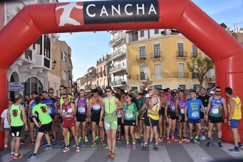 Los atletas Rául Guevara (Mandarache) y Mar Gómez (Rajaos Runners) se proclaman vencedores en la XXII Subida a La Santa de Totana con un tiempo de 28:34 y 36:09 minutos, respectivamente