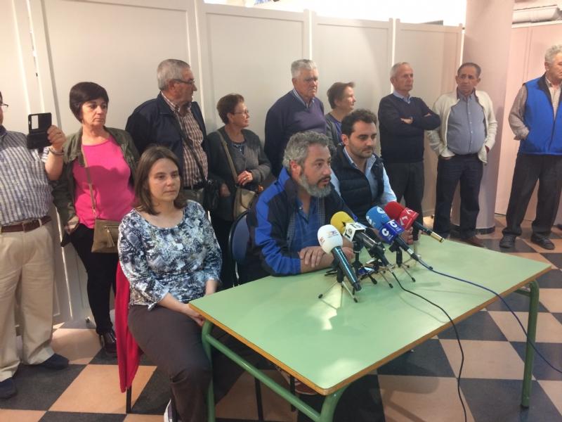 Vídeo. Se presenta de forma oficial la Plataforma Ciudadana AVE Totana-Fuerza Ciudadana, en contra de la modificación del trazado del Corredor Mediterráneo a su llegada a este municipio