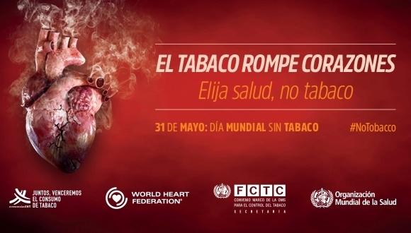El Ayuntamiento se suma a la campaña de sensibilización con motivo del Día Mundial Sin Tabaco que se celebra hoy, centrándose en las consecuencias del riesgo cardiovascular sobre la salud