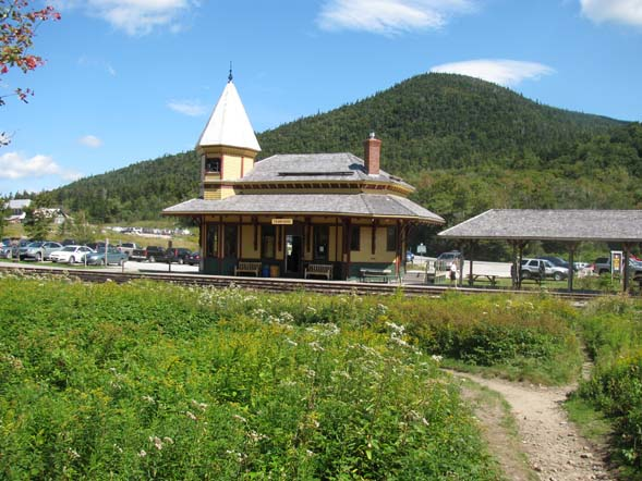 Crawford Notch Depot