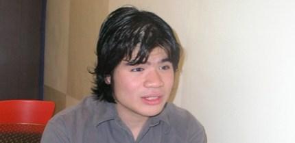 Filmmaker Sherad Anthony Sanchez (davaotoday.com photo by Barry Ohaylan)