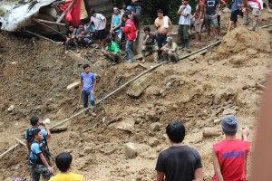 pantukan landslide rescue stoppage order retrieval