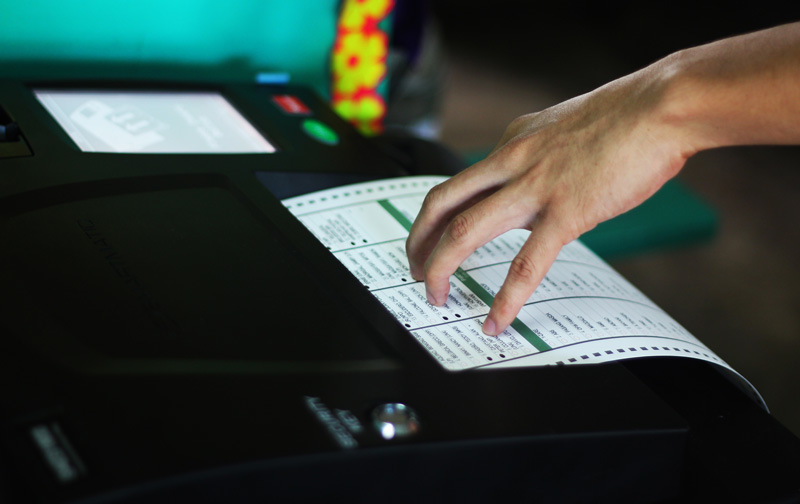 Davao's count machines to undergo final check 4 days before polls