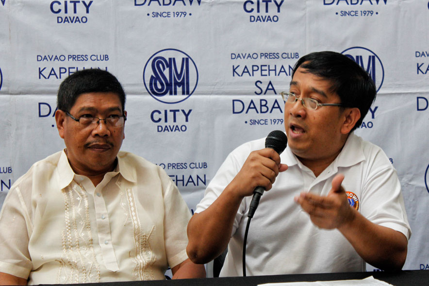 WANTED ACCOUNTANTS. In this year's celebration of accountancy week, head of Davao's certified public accountants Harry Cacdac encourages more enrollees to accounting courses.  He says only 900 of the 3,000 certified public accountants in the city are active in their work.  (davaotoday.com photo by Medel V. Hernani)