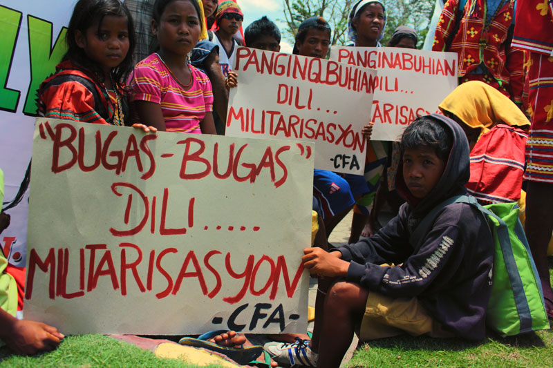 Pablo-rehab village of Compostela driven out by militarization