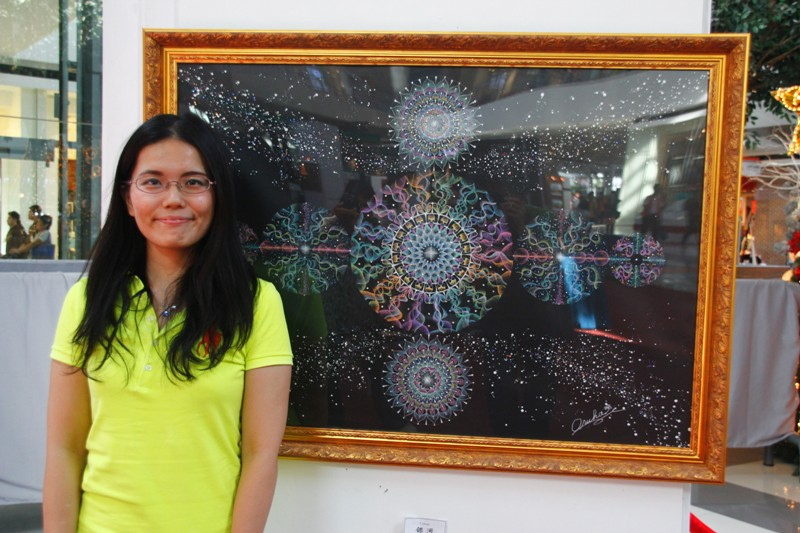 Japanese artist debuts in Davao for Yolanda victims