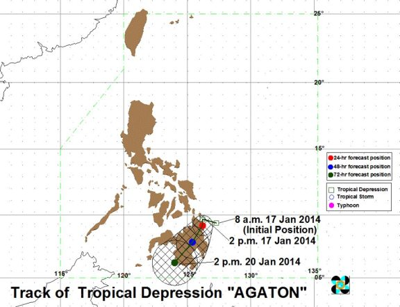 courtesy of PAGASA