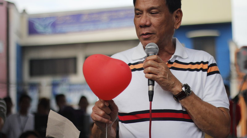 Duterte, V-men join women in 'One Billion Rising for Justice'