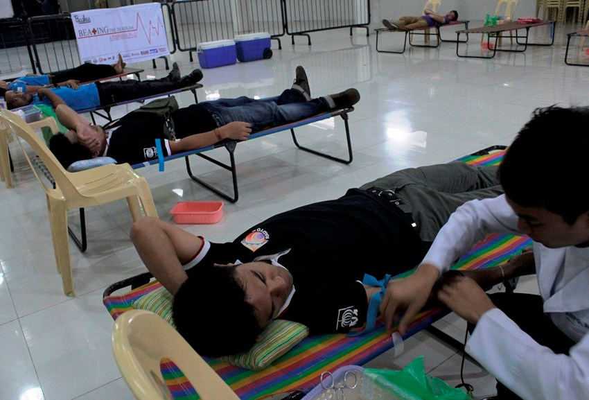 Red Cross-Davao asks public to donate more blood