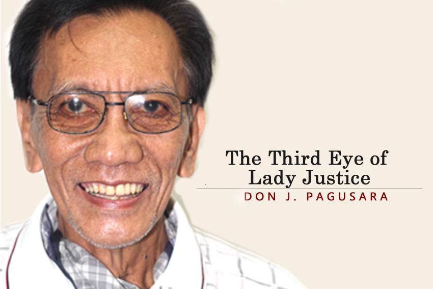 The Third Eye of Lady Justice
