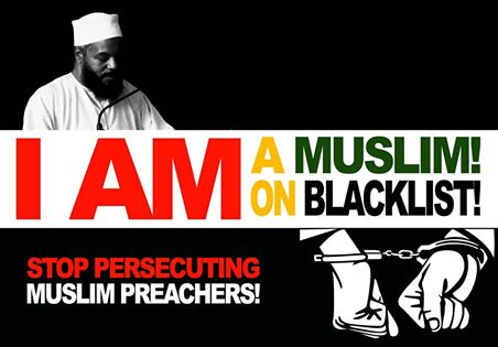 Detained Islamic preacher denies 'terrorist' links