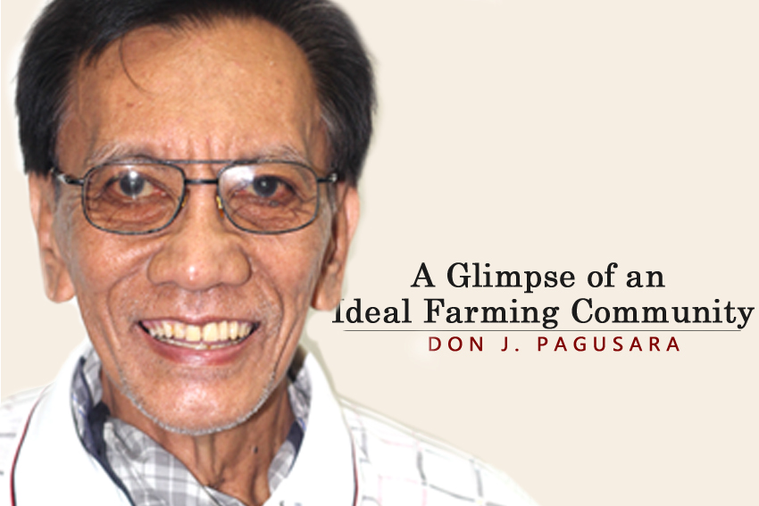 A Glimpse of an Ideal Farming Community