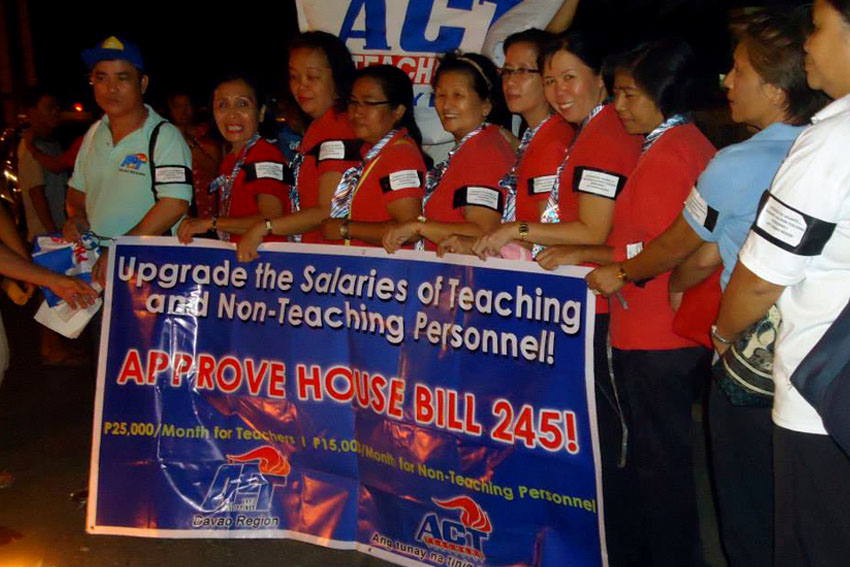 Teachers thankful for support of Deped official to  hike wages