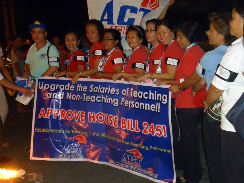 Davao City public school teachers join outcry on police profiling of their ranks