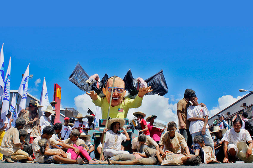 In photos: Yolanda year 1 protests