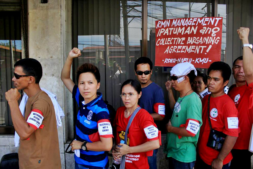 Radio workers say illegal strike charges stand in the way of strike resolution