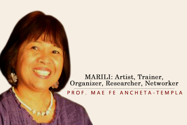 MARILI: Artist, Trainer, Organizer, Researcher, Networker