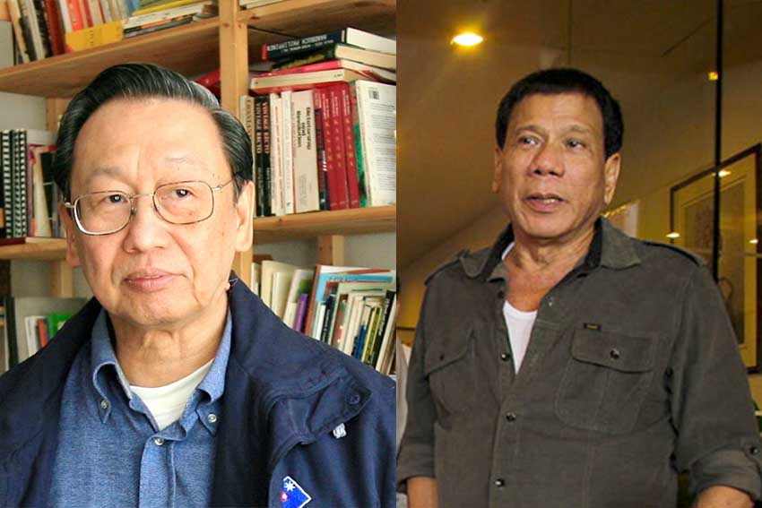 Duterte agrees with Joma
