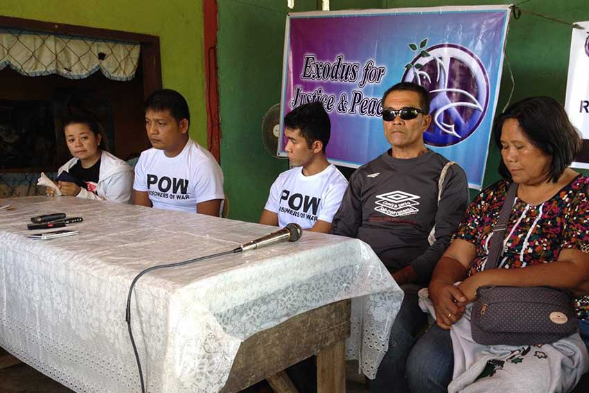 Group says POWs release is NPA's compliance to CARHRIHL