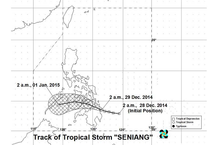 TS 'Seniang' triggers landslide, floods in Comval, Davao Norte