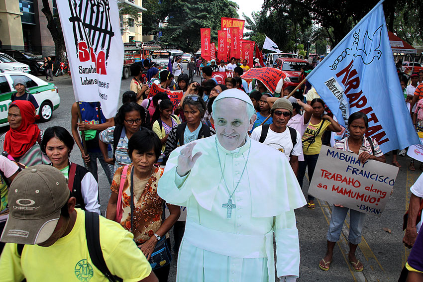 Greatest lesson of Davaoeños from Pope's visit: Liberate the poor