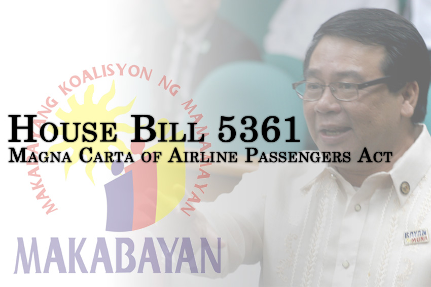 Solons say rights code for airline passengers to prevent repeat of Yuletide flight problems