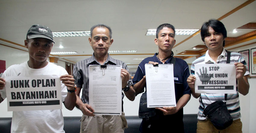 Labor group files case in intl labor conventions