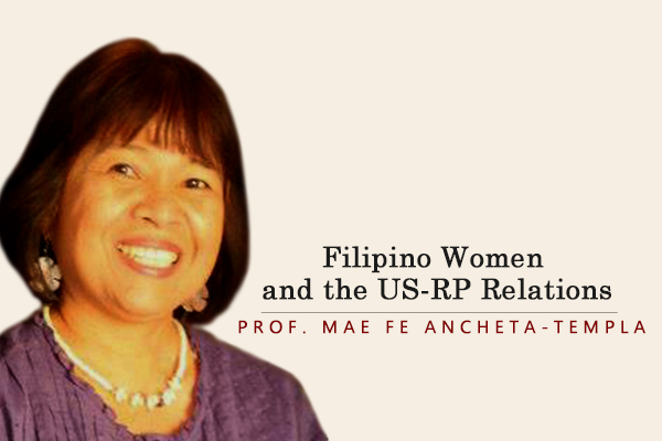 Filipino Women and the US-RP Relations