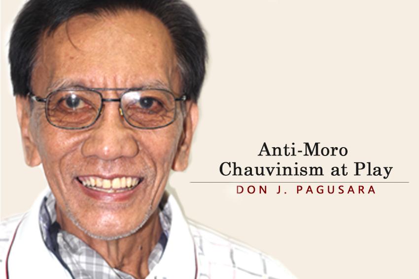 Anti-Moro Chauvinism at Play