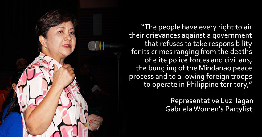 No stopping of People Power protests says solon