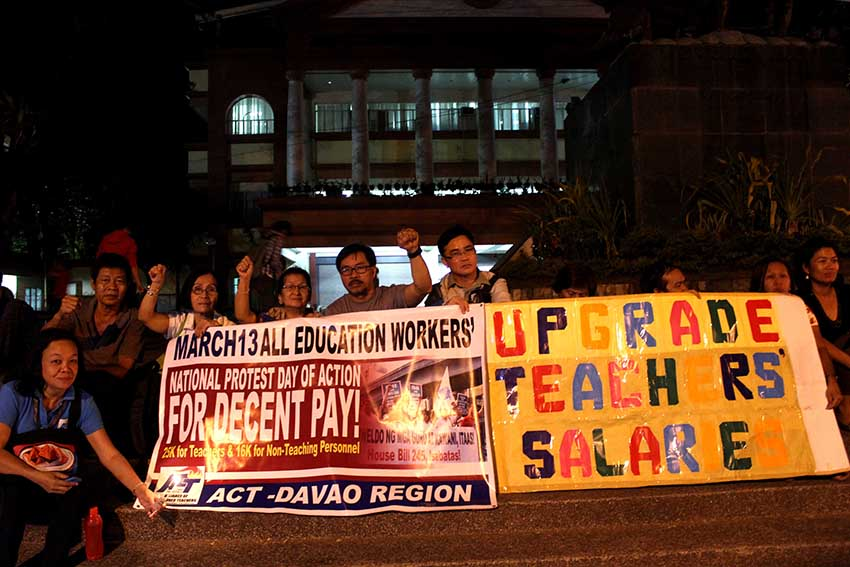 No double pay hike for teachers