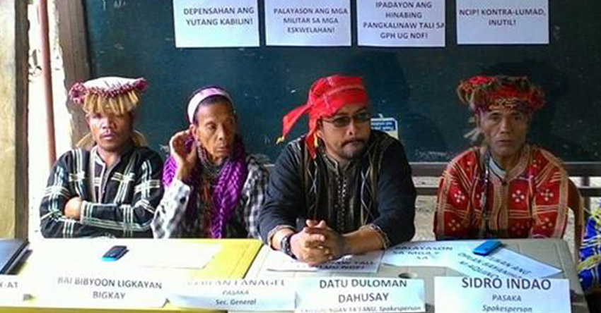 Davao Lumad leader presents HR cases to UN