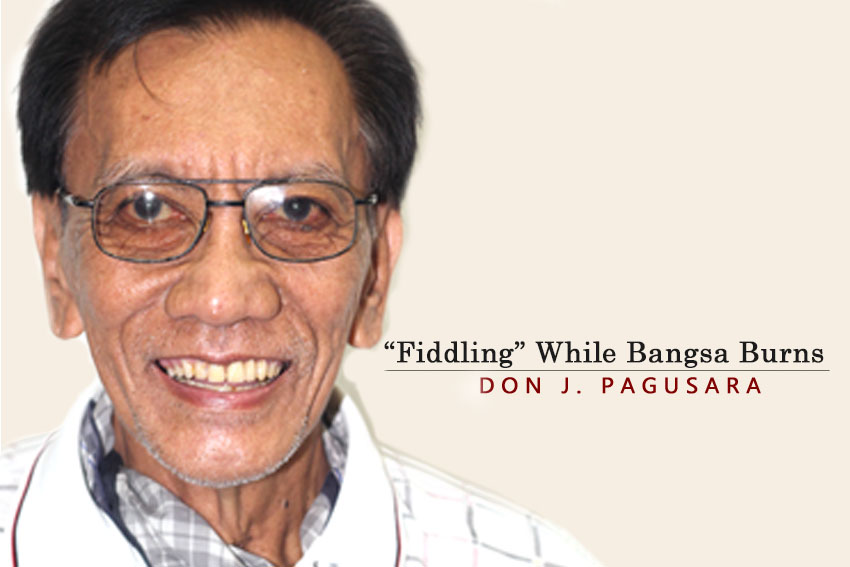 "​""Fiddling"" While Bangsa Burns"