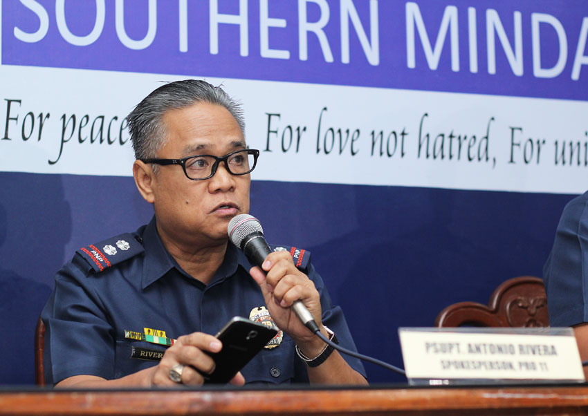 Crimes drop by 26.4% in Davao City
