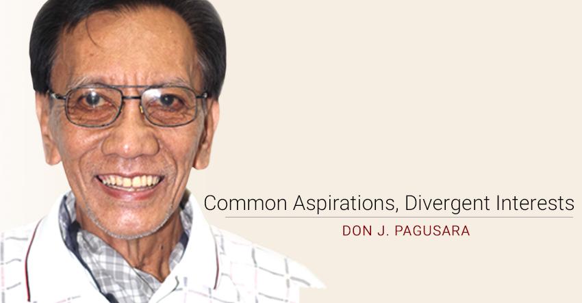 Common Aspirations, Divergent Interests