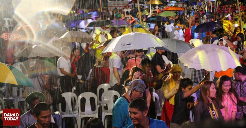 Rain cuts short Kadayawan opening ceremony