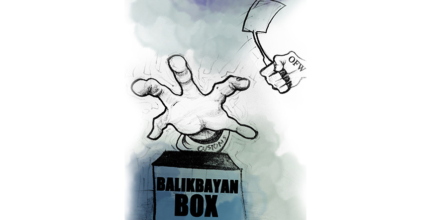 #balikbayanbox of love: Migrant group wants Customs report on contrabands made public